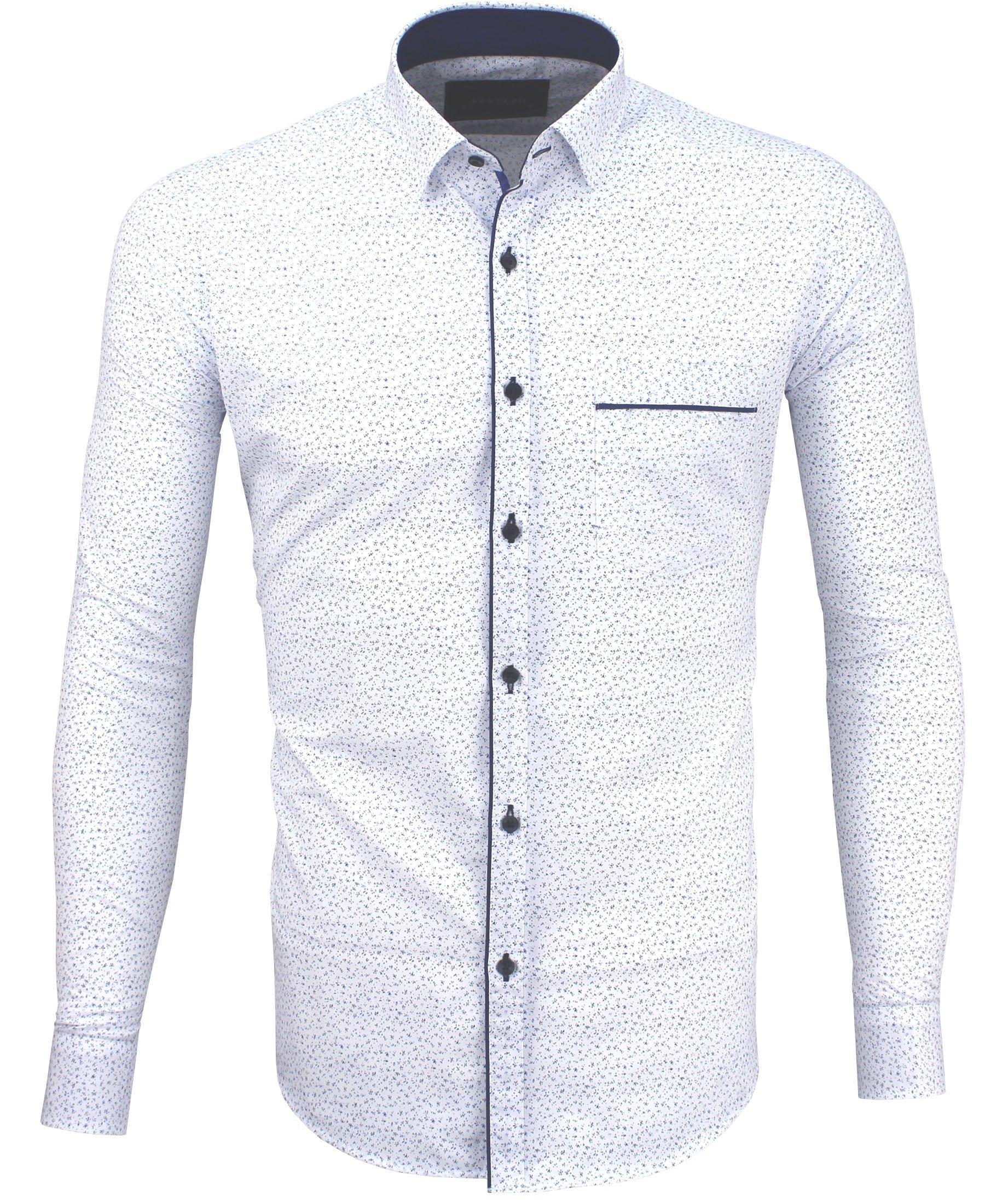 Koszula Męska Z Kieszenią Bawełniana 463 Megakoszule Pl